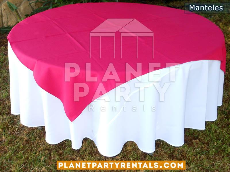 Manteles para mesas rectangular y mesas redondas for Manteles para mesas redondas