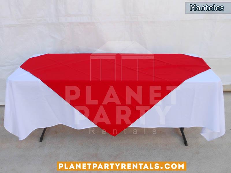 Cuanto mide un mantel para mesa rectangular