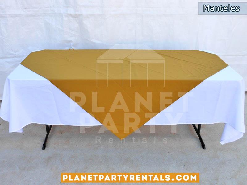 Manteles para mesas rectangular y mesas redondas for Cubre sillas para 15 anos