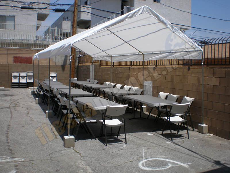 Precios decoraciones de globos flores carpas bodas for Mesa y sillas para 8 personas